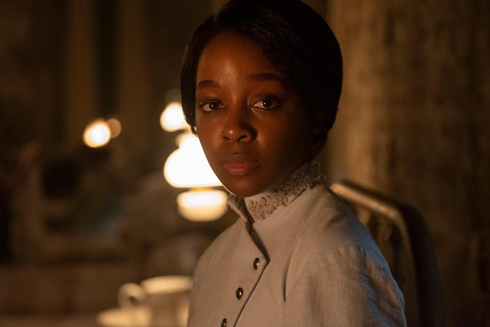 """South African newcomer Thuso Mbedu plays Cora Randall, the central character in Amazon's """"The Underground Railroad."""""""