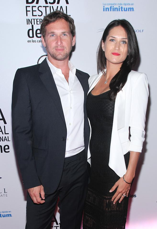 CABO SAN LUCAS, MEXICO - NOVEMBER 17: Josh Lucas and Jessica Lucas attend the Closing Night Gala during the Baja International Film Festival at Los Cabos Convention Center on November 17, 2012 in Cabo San Lucas, Mexico. (Photo by John Parra/Getty Images for Baja International Film Festival)