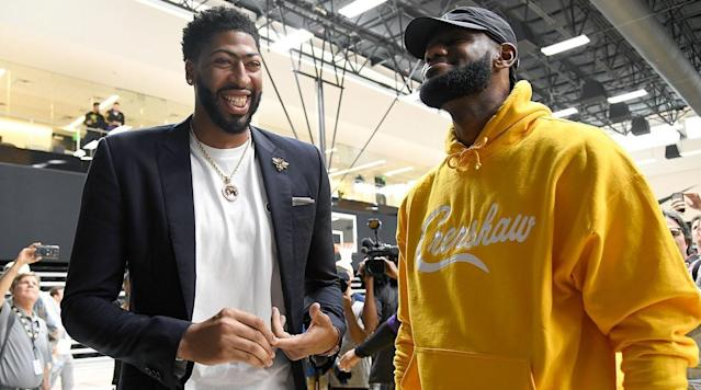 LeBron-AD or Kawhi-PG? Ranking the NBA's New Superstar Duos