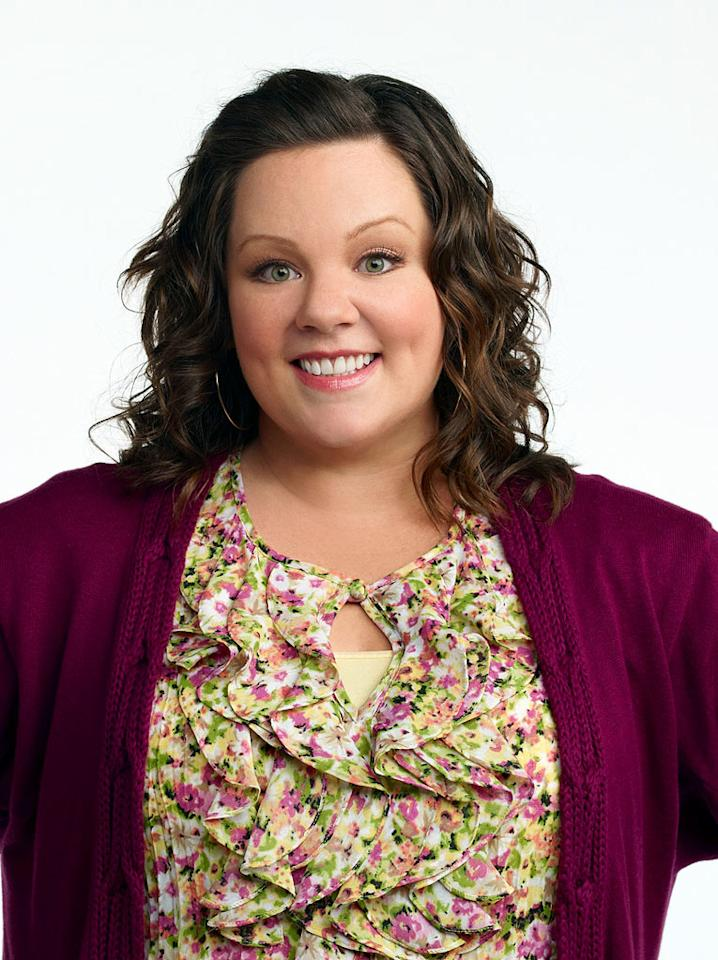 "Melissa McCarthy (""Mike & Molly"") is nominated for Outstanding Lead Actress in a Comedy Series."