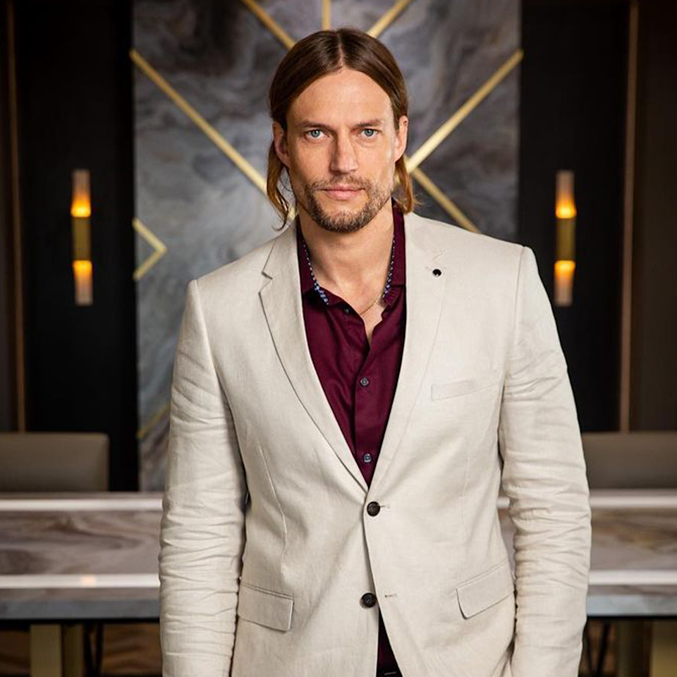 """David was accused of """"snaky"""" behaviour during his time on Celebrity Apprentice, which lead to him getting fired. Photo: Instagram/davidgenat"""