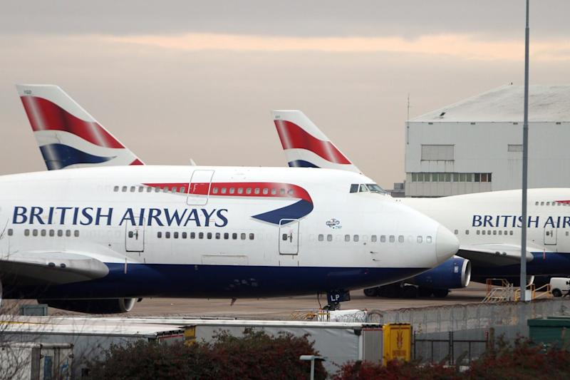 The pilot was escorted off the plane by armed police: PA Archive/PA Images