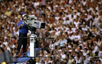 """<p>The Olympic broadcast itself could be considered a modern-day tradition. U.S. network NBC has exclusively covered the Olympic Games since 1960. The 1996 Summer Games opening ceremony set new records, drawing 39.7 million viewers — the <a href=""""https://go.redirectingat.com?id=74968X1596630&url=https%3A%2F%2Fwww.nielsen.com%2Fus%2Fen%2Finsights%2Farticle%2F2008%2Fhistorical-us-tv-ratings-for-olympics-opening-ceremonies%2F%23%3A%7E%3Atext%3DThe%2520opening%2520ceremonies%2520for%2520the%2Cof%2520any%2520recent%2520Summer%2520Games.&sref=https%3A%2F%2Fwww.womenshealthmag.com%2Flife%2Fg37191812%2Folympics-opening-ceremony-in-photos%2F"""" rel=""""nofollow noopener"""" target=""""_blank"""" data-ylk=""""slk:largest United States television audience"""" class=""""link rapid-noclick-resp"""">largest United States television audience</a> than any other previous Olympic Games. </p>"""