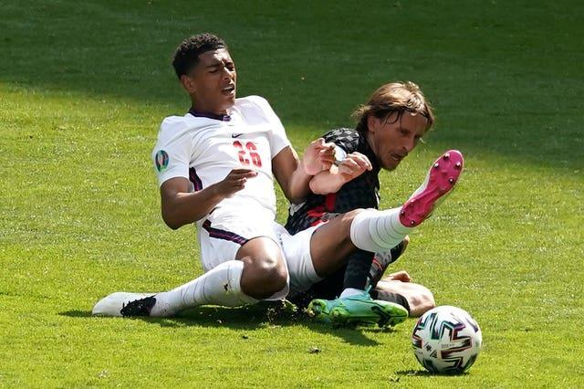 England had to dig in against Croatia