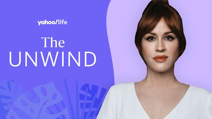 Actress and mom of three Molly Ringwald talks vaccines, meditation and pushing past old insecurities. (Photo: Courtesy photo; designed by Quinn Lemmers)