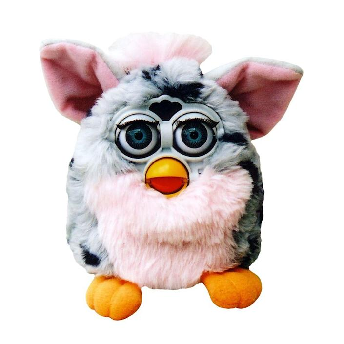 """<p><a class=""""link rapid-noclick-resp"""" href=""""https://www.amazon.com/Hasbro-Furby-Connect-Friend-Purple/dp/B01EARLUBG/ref=sr_1_1?tag=syn-yahoo-20&ascsubtag=%5Bartid%7C10063.g.34738490%5Bsrc%7Cyahoo-us"""" rel=""""nofollow noopener"""" target=""""_blank"""" data-ylk=""""slk:BUY NOW"""">BUY NOW</a><br></p><p>Kids and adults were going crazy for Furbies in 1998. The little gremlin-like furry creatures that said phrases like """"feed me"""" and """"I love you"""" came in different colors. In the first 3 years of hitting stores, they sold more than 40 million worldwide. There were two different relaunches of the Furby, one in 2005 and one in 2012, but neither were quite as successful as the original release.</p>"""