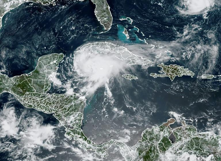 Grace, a Category One hurricane, was packing maximum sustained winds of 130 kilometers per hour, the US National Hurricane Center said