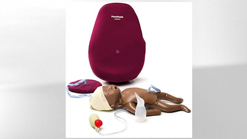 Birth Simulator Includes Baby, Blood, Backpack
