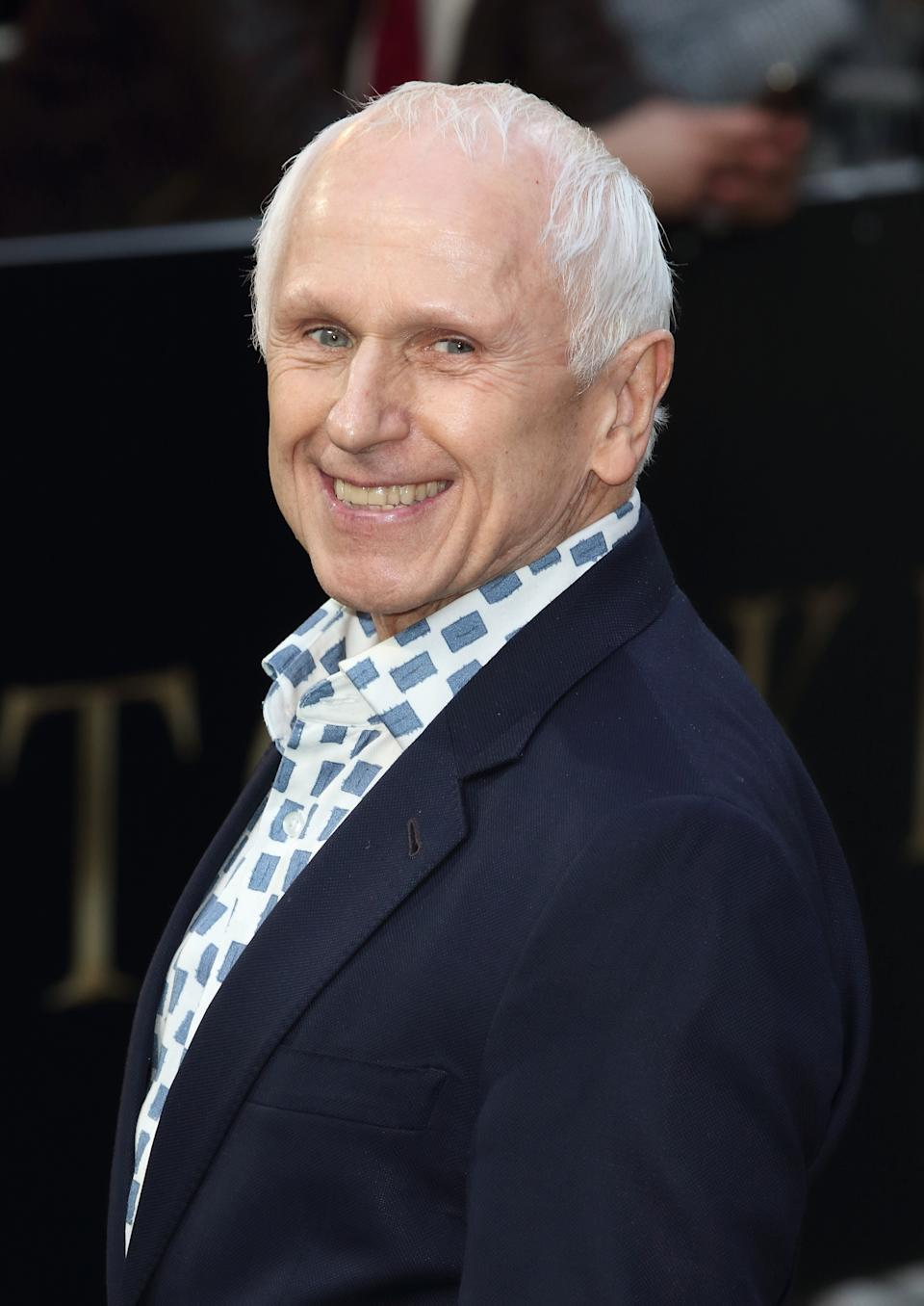 LONDON, UNITED KINGDOM - 2019/04/29: Wayne Sleep on the red carpet at the Tolkien UK Premiere at the Curzon Mayfair. (Photo by Keith Mayhew/SOPA Images/LightRocket via Getty Images)