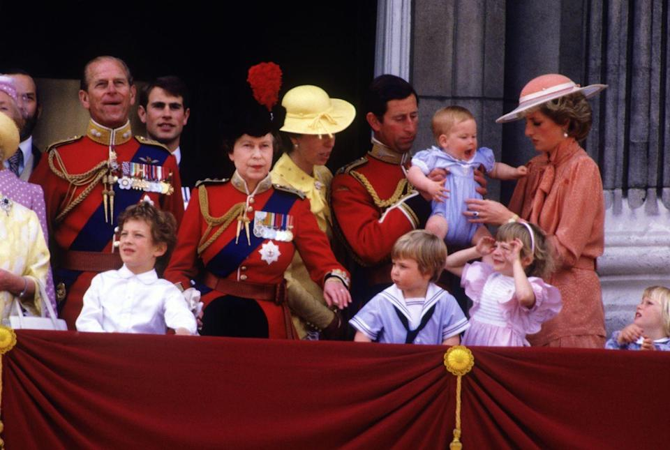 <p>Children typically make their debut for the Queen's birthday extravaganza after their first birthday. <br></p>