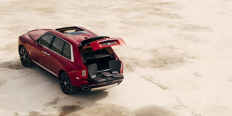 Rolls Royce's launches its all-terrain SUV Cullinan