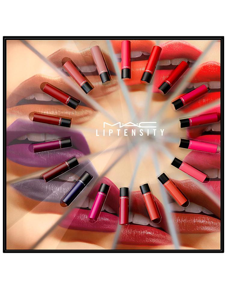 """<p>This epic lipstick vault contains 24 of MAC's insanely-pigmented Liptensity Lipsticks. From nudes to reds, and pinks to plums, <em>all</em> the best shades are covered in this box of dreams.</p><p><a rel=""""nofollow"""" href=""""http://www.selfridges.com/GB/en/cat/mac-liptensity-lipstick-collectors-set_329-81004873-S9J8010000/"""">buy now</a></p>"""