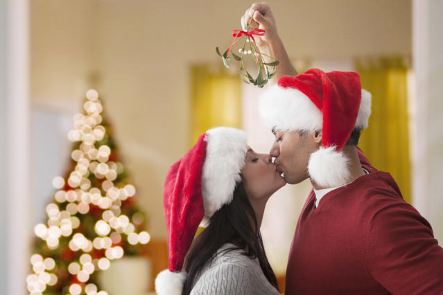 The festive period leads people to have more sex than any other time of year. [Photo: Getty]