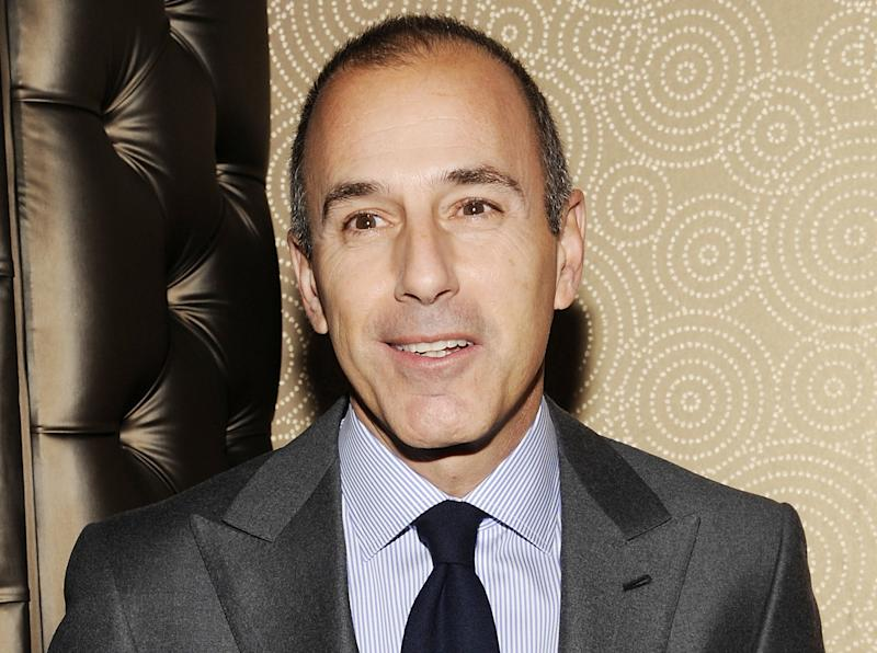 """FILE - In this Jan. 12, 2012 file photo, """"Today"""" show co-host Matt Lauer attends the """"Today"""" show 60th anniversary celebration at the Edison Ballroom in New York. Lauer on Thursday, March 14, 2013 told advertisers that he wants to get the """"Today"""" show back to being the most-watched and least talked about show on morning television, and he expects to do it. (AP Photo/Evan Agostini, File)"""