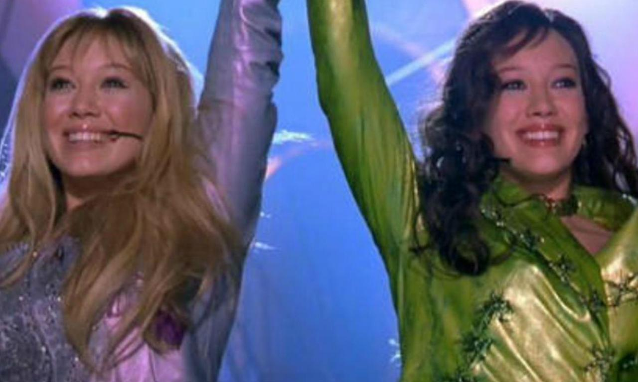 <p>Hilary Duff played the titular character in 2002's The Lizzie Maguire Movie, of course, but also the Italian popstar Isabella Parigi too. This is such a '00s movie. </p>