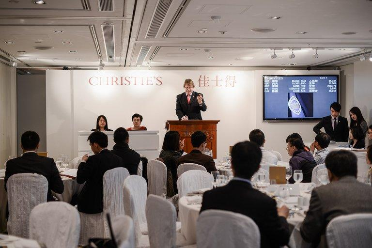 Henry Tang, a former Hong Kong politician, sold off part of his rare wine collection for over $6 million, on March 15, 2013, with the help of auction house Christie's. The 2-day auction included a wide selection of Burgundys with vintages ranging from 1949 to 2010, Christie's said, and dozens of wine aficionados attended with others bidding online