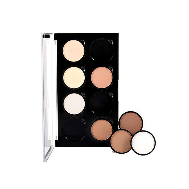 """<p><strong>NYX Highlight & Contour Pro Palette</strong></p> <p>No matter what your skin tone is, you'll be able to make these eight shades work for you. Plus, you can rearrange the pans for convenience and buy extra singles of your ride-or-die faves.</p> <p>$25 (<a href=""""http://www.nyxcosmetics.com/highlight-and-contour-pro-palette/NYX_168.html?cgid=highlight-contour&mbid=synd_yahoobeauty"""" rel=""""nofollow noopener"""" target=""""_blank"""" data-ylk=""""slk:nyxcosmetics.com"""" class=""""link rapid-noclick-resp"""">nyxcosmetics.com</a>).</p>"""