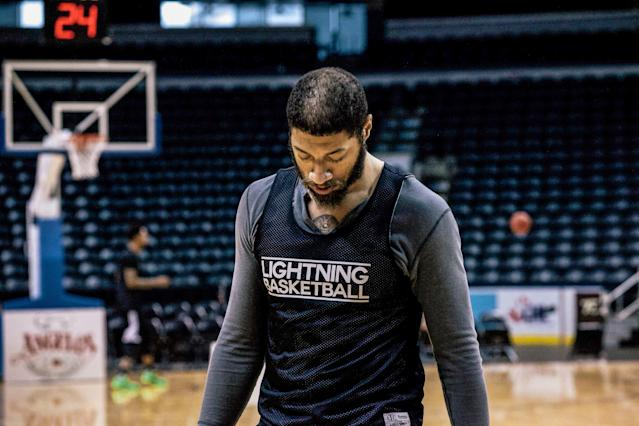 Thirteen months after he was drafted, Royce White was out of the NBA. Five years later, playing professionally in Canada, he reflects on his experience in Houston and the state of the mental health conversation in the NBA. (Photo via Aaron Wynia/Esquire)