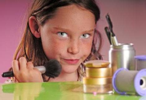Should you let your daughter wear makeup?