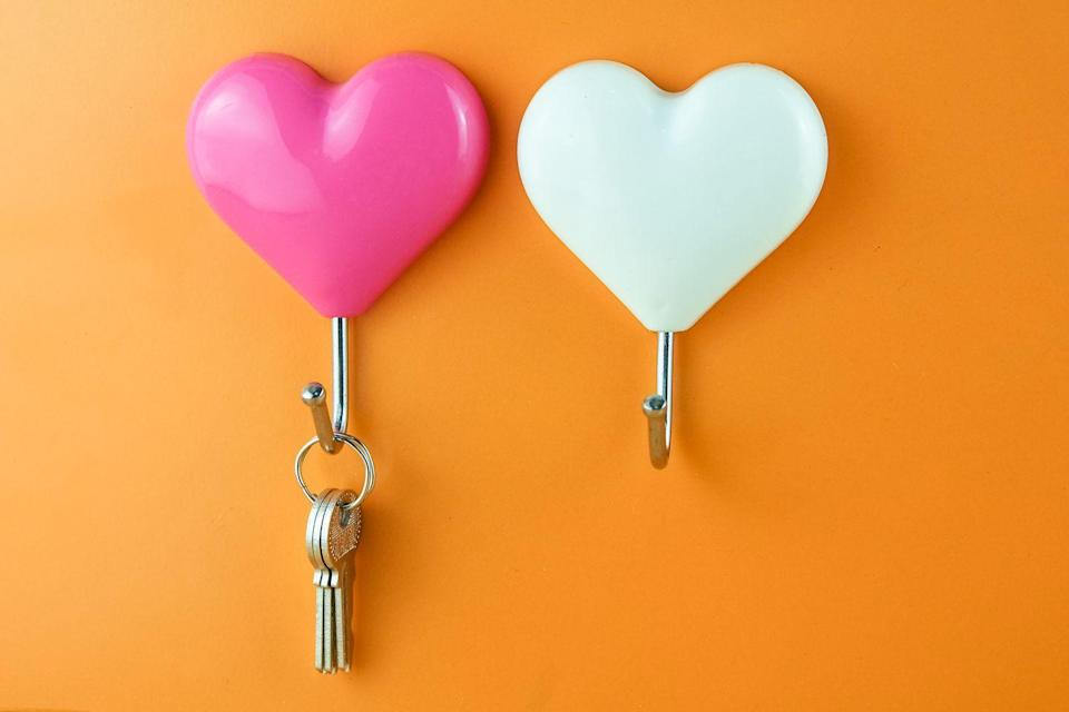 <p>Whether it's a hook by the front door or a catchall near the entrance, make sure your keys have a clear destination. You don't want to spend time searching for them when you need them, says Jennings.</p>