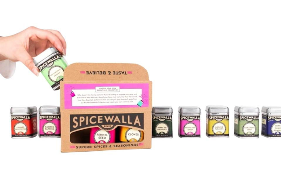"""$16, Spicewalla. <a href=""""https://www.spicewallabrand.com/collections/home/products/3-pack-choose-your-own-essentials"""" rel=""""nofollow noopener"""" target=""""_blank"""" data-ylk=""""slk:Get it now!"""" class=""""link rapid-noclick-resp"""">Get it now!</a>"""
