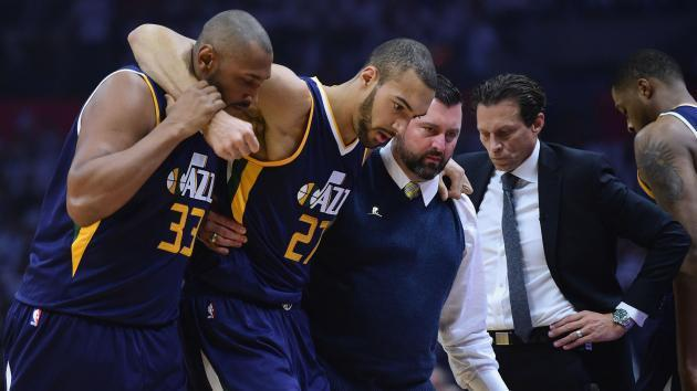 Jazz center Gobert to miss game two with Clippers