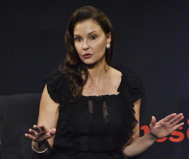 BEVERLY HILLS, CA - DECEMBER 05: Actor Ashley Judd speaks onstage at The Paley Center for Media on December 5, 2017 in Beverly Hills, California. (Photo by Rodin Eckenroth/Getty Images)