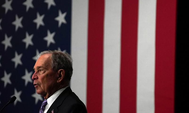 Michael Bloomberg: race controversies.