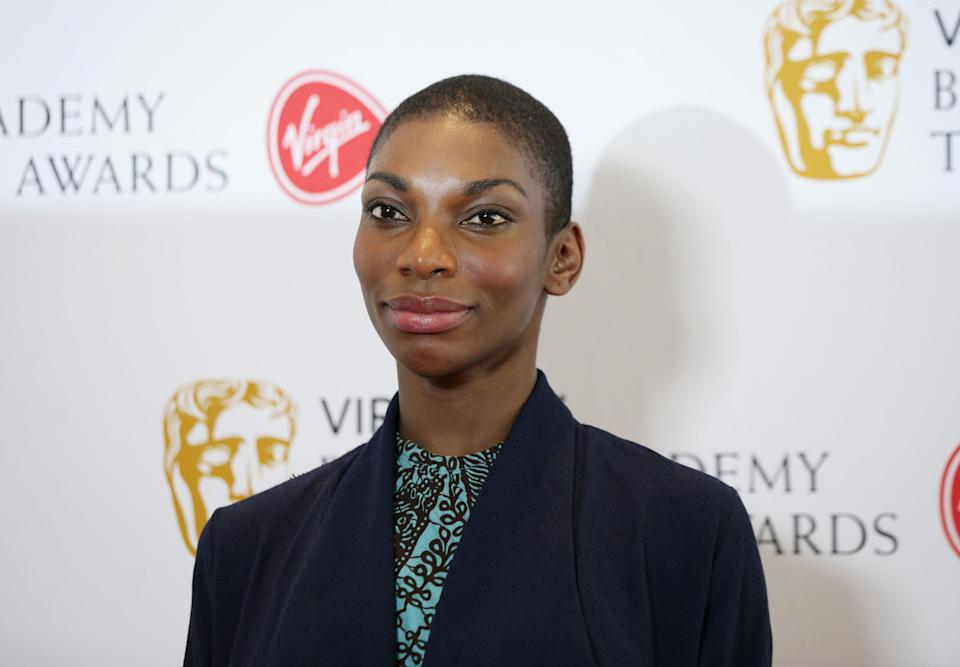 Michaela Coel is also nominated, with I May Destroy You up for 8 awardsPA Archive