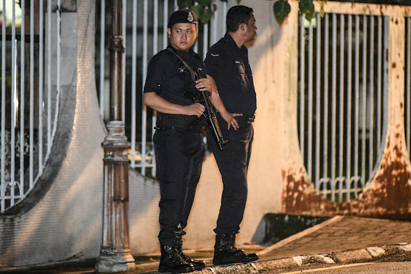 Malaysian police converged on the home of ousted premier Najib Razak, who has been accused of massive graft