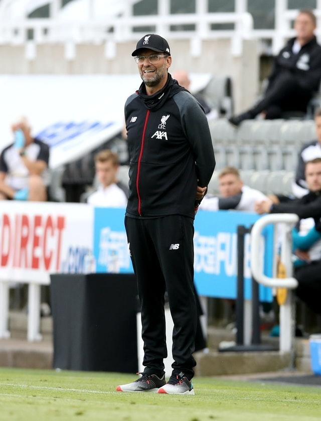 Jurgen Klopp saw his men end with another win