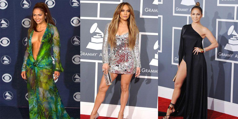 "<p>The green Versace dress Jennifer Lopez wore to the Grammy awards in 2000 is so iconic it's got its <a rel=""nofollow"" href=""https://en.wikipedia.org/wiki/Green_Versace_dress_of_Jennifer_Lopez"">own Wikipedia page</a>, has been on <a rel=""nofollow"" href=""https://www.today.com/news/jennifer-lopez-says-she-would-still-wear-famous-grammy-dress-1C8544258"">display at the official Grammy's museum</a>, has spurred <a rel=""nofollow"" href=""http://www.cosmopolitan.com/uk/fashion/celebrity/a12138437/jennifer-lopez-grammy-dress/"">copycat versions</a> and even directly contributed to the invention of Google Images (<a rel=""nofollow"" href=""http://uk.businessinsider.com/jennifer-lopezs-grammys-dress-inspired-google-image-search-2015-5"">True story</a>).</p><p>Though this dress is the most memorable, there were many other times she absolutely slayed on the Grammy Awards red carpet. Click through for throwbacks to all of them.</p>"