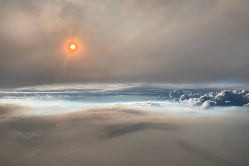 NASA Images of 'Fire Cloud' From Washington Wildfire are Out of this World