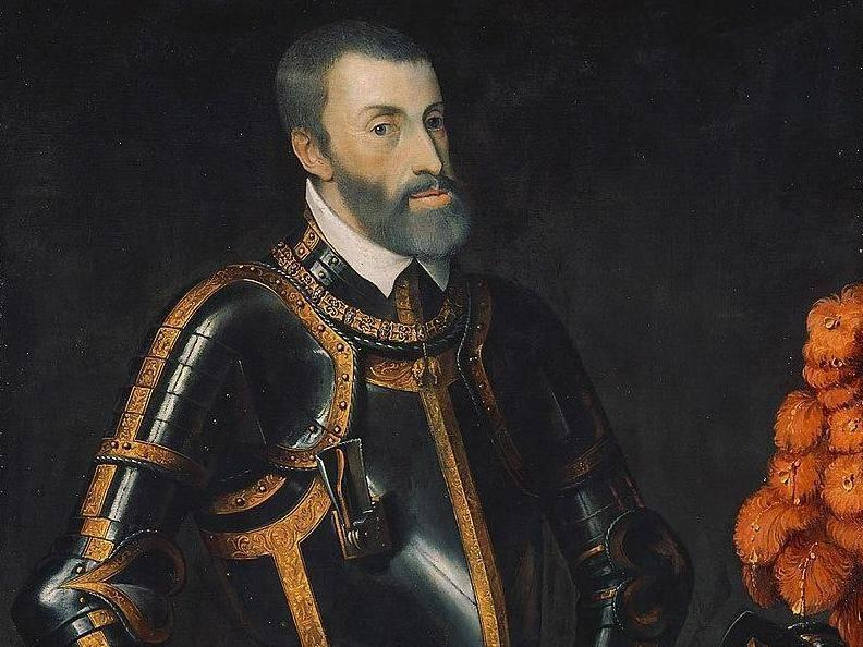 Portrait of Charles I of Spain, ruler of the Holy Roman Empire (Wikimedia)