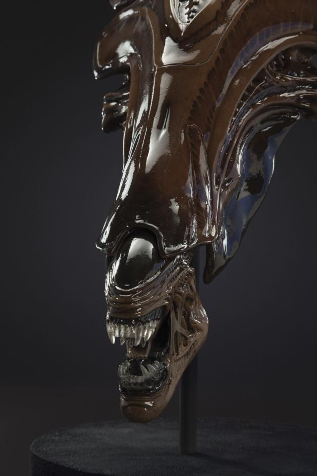 1:3-scale Queen Alien head from <em>Alien: Resurrection</em> (Photo: studioADI)