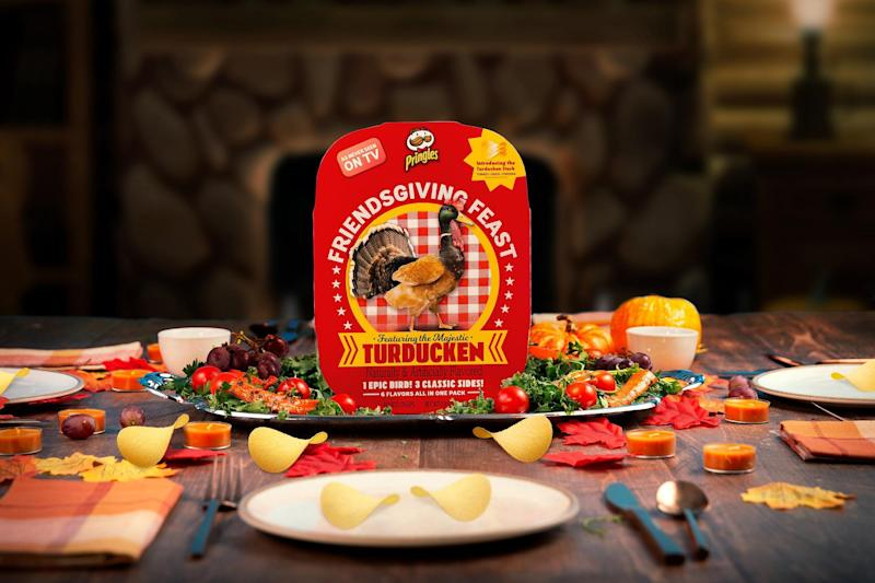 We tried Turducken Pringles and lived to tell you how they taste