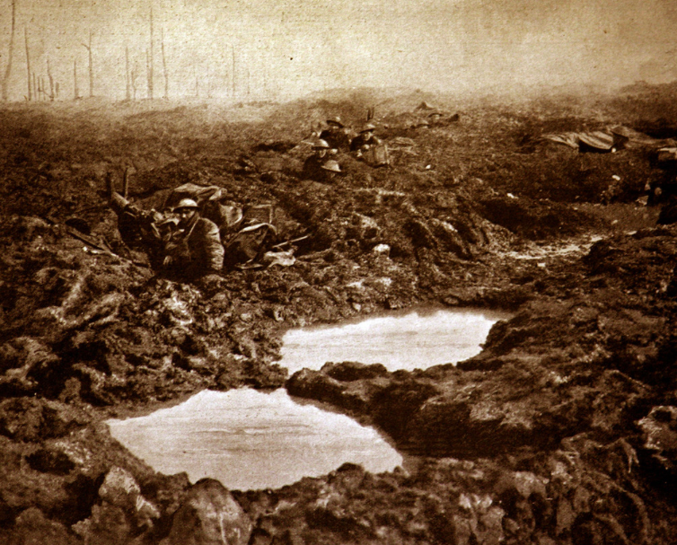 Moving pictures of the Battle of Passchendaele on 100th