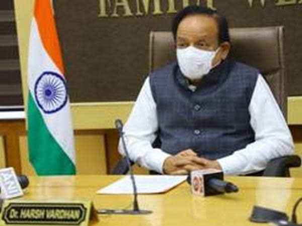 Harsh Vardhan chairing the opening session of the 33rd meeting of Health Ministers of Commonwealth countries in Delhi on Thursday.