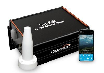 With the new Sat-Fi2® Remote Antenna Station users can access the Globalstar Satellite Network via any Wi-Fi enabled smart device for reliable connectivity inside vehicles, vessels and remote buildings beyond the reach of cellular. (CNW Group/Globalstar Canada Satellite Co)