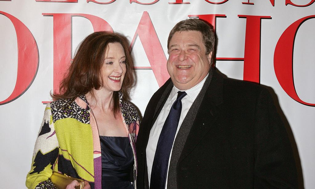 """<a href=""""http://movies.yahoo.com/movie/contributor/1800016005"""">Joan Cusack</a> and <a href=""""http://movies.yahoo.com/movie/contributor/1800016364"""">John Goodman</a> at the New York premiere of <a href=""""http://movies.yahoo.com/movie/1809973783/info"""">Confessions of a Shopaholic</a> - 02/05/2009"""