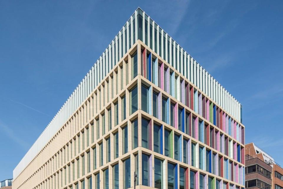 Helical has developed the Kaleidoscope building in Farringdon (Helical)
