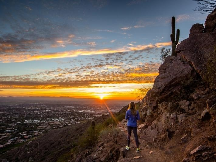 Trails will be packed in Phoenix for Memorial Day 2020.