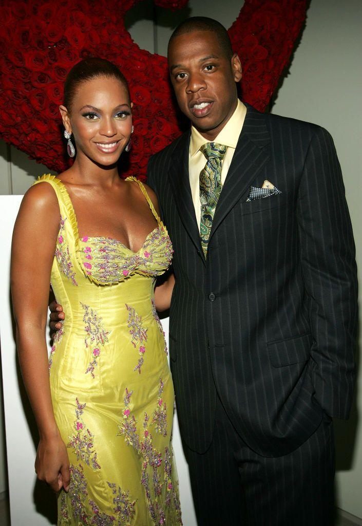 <p>Beyoncé and Jay-Z made a public appearance at a charity event hosted by Beyoncé and her mother Tina Knowles.</p>