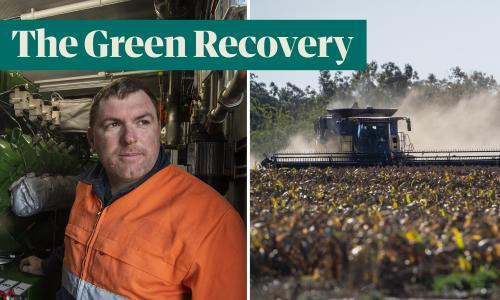 'We pay a tax to produce clean energy': the Queensland pig farmer who is leading the way on climate action