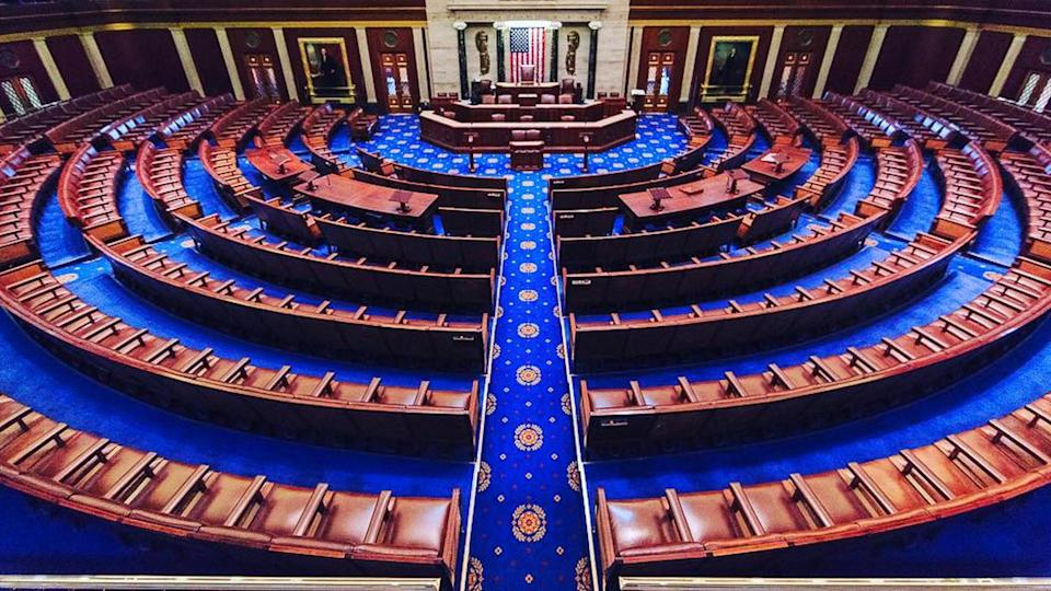 United States House of Representatives interior chambers