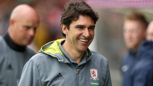 Ahead of this weekend's return to the Premier League, Middlesbrough manager Aitor Karanka quashed rumours he was on the way out in March.