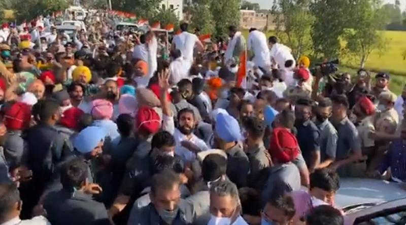 Rahul Gandhi Allowed to Enter Haryana After His 'Kheti Bachao Yatra' Was Briefly Stoppedat State Border
