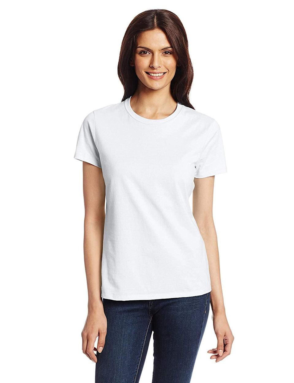 <p>I also love this <span>Hanes Nano T-Shirt</span> ($7) because it comes in so many color choices.</p>