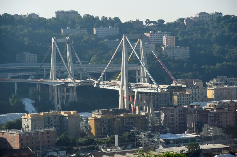 Italian court blames penny pinching for falsified bridge checks at Atlantia