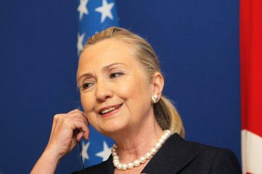 US Secretary of State Hillary Clinton, pictured on August 11, is set to make a rare foray to the South Pacific this week